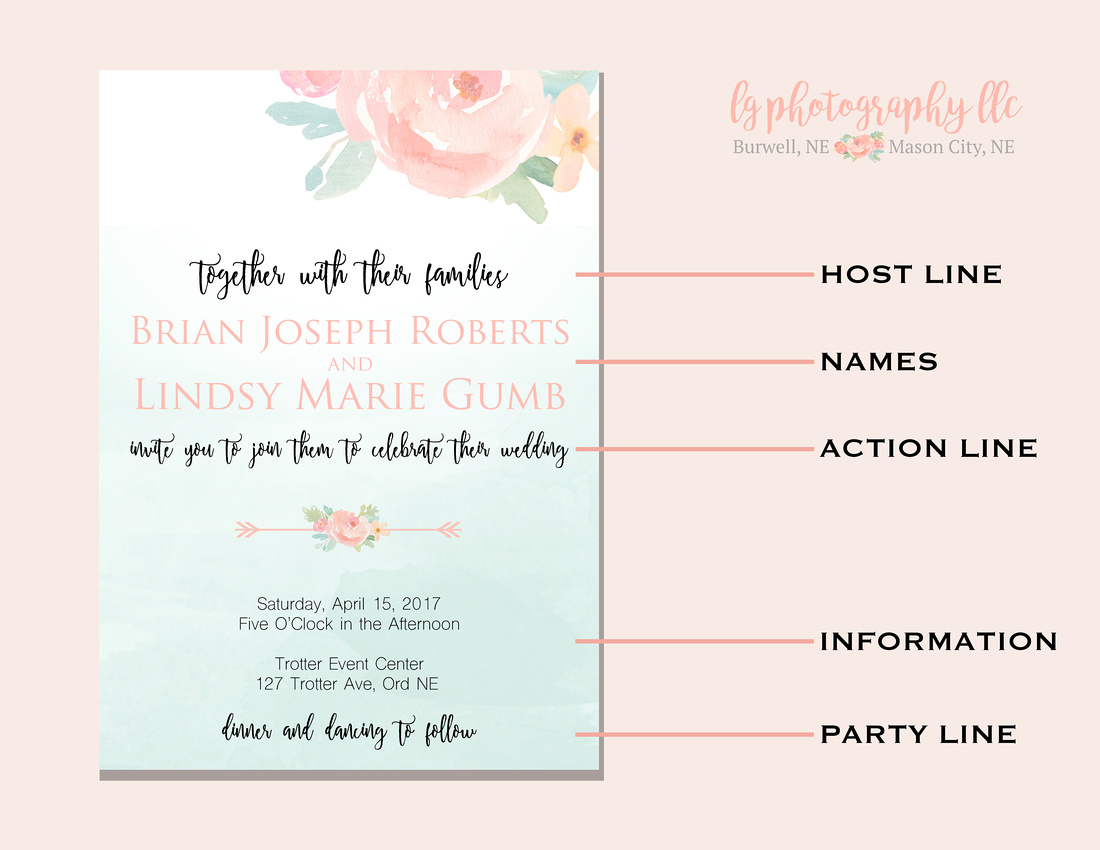 LG Photography LLC | Wedding Invitations