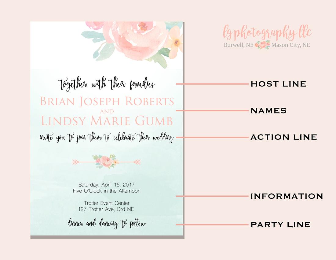LG Photography LLC | Wedding Invitations